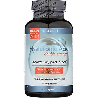 NeoCell Hyaluronic Acid Double Strength 120 mg 60 Capsules