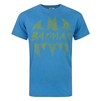 Junk Food Batman Crackle Logo Men's T-Shirt