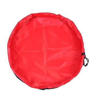 Play mat / Storage bag for toys - Red
