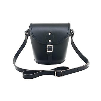 Zatchels Womens/Ladies Handcrafted Leather Barrel Bag (British Made)