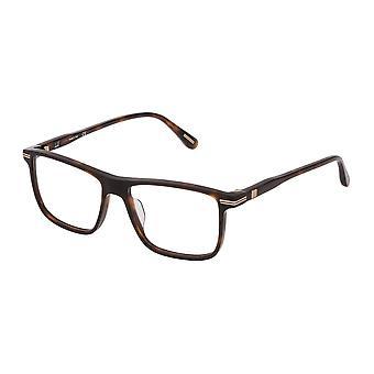 Dunhill VDH142 01AY Shiny Dark Havana Glasses