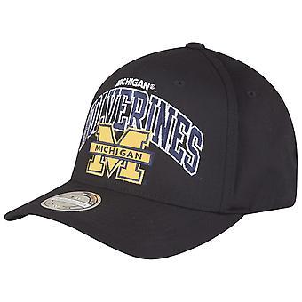 Mitchell & Ness 110 Snapback Cap - NCAA Michigan Wolverines