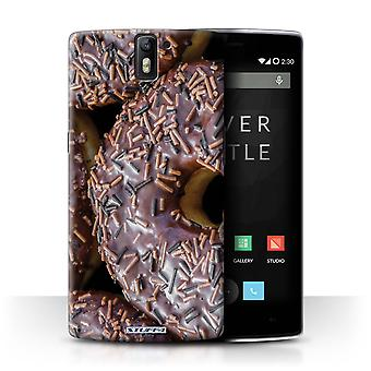 STUFF4 Case/Cover voor OnePlus One/chocolade/lekkere Donuts