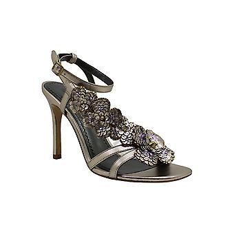 Coach dame Bianca peep tå casual ankel rem sandaler