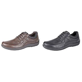 IMAC Mens Waterproof Extra Wide Lace Up Casual Shoes
