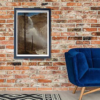 Albert Bierstadt - Falls of Yosemite Poster Print Giclee
