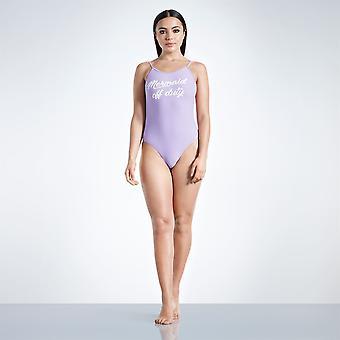 Golddigga Womens Scoop Back Ein Stück Badeanzug Strand Bademode Damen