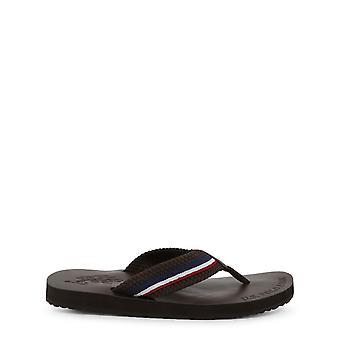 U.S. Polo Assn. Original Men Spring/Summer Flip Flops - Brown Color 33503