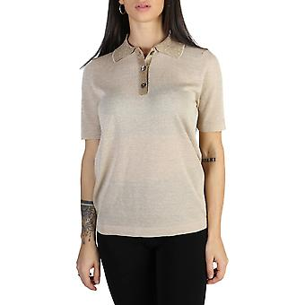 Tommy Hilfiger Original Women Spring/Summer Polo - Brown Color 40898