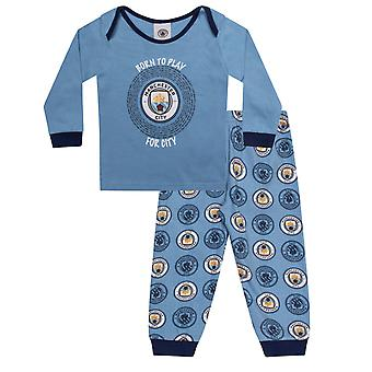Manchester City FC Official Football Gift Boys Kids Baby Piżamy