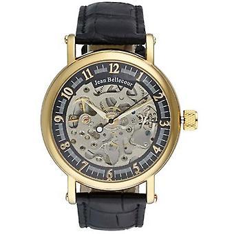 Jean Bellecour Millennium WATCH REDS27 - Men's Dor e Automatic Watch