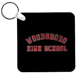 Scream Woodsboro High School Varsity Keyring
