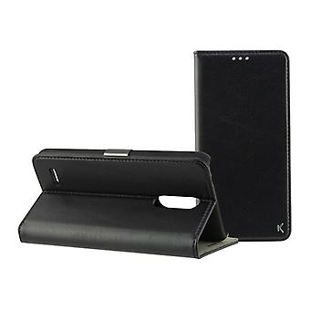 Funda para teléfono móvil Folio Lg K11 KSIX Negro