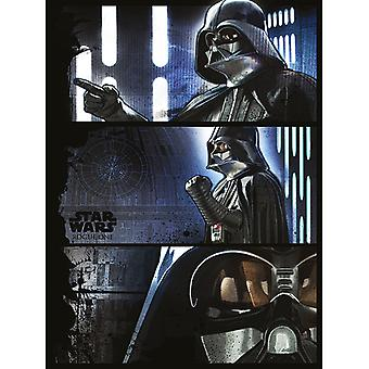 Star Wars Rogue One Darth Vader Panneaux Canvas Plate 60-80cm