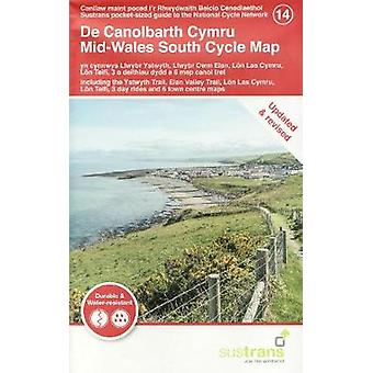 Mid-Wales South Cycle Map - Including the Ystwyth Trail - Elan Valley