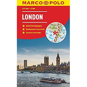 London Marco Polo City Map by Marco Polo - 9783829759137 Book