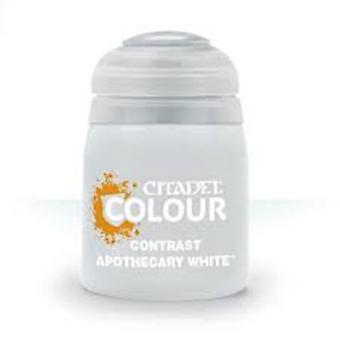 Contrast: Apothecary White (18ml) ,Citadel Paint Contrast, Warhammer 40,000