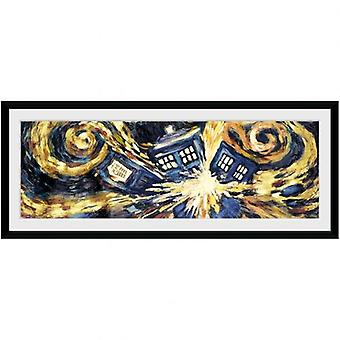 Doctor Who Picture 30 x 12 Tardis