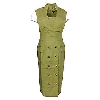 G.I.L.I. got it love it Dress Military Style w/ Hardware Green A275547