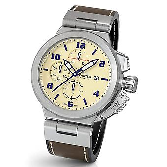 TW Steel ACE202 Spitfire Swiss Made automatic men's cronógrafo watch 46 mm