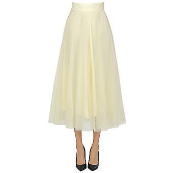 Zimmermann Ezgl507002 Women's Beige Polyester Skirt