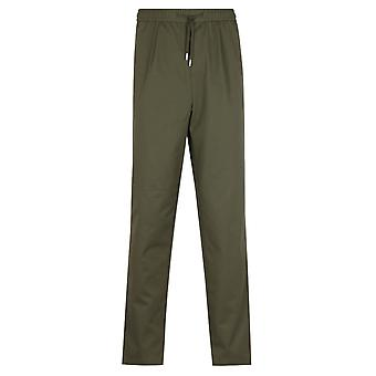Fred Perry Drawstring Twill Military Green Trouser