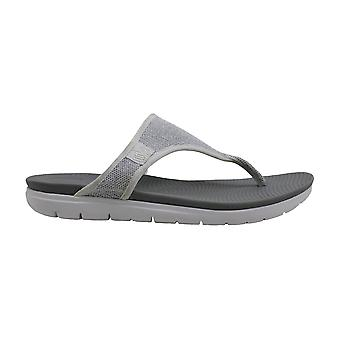FitFlop Womens Uberknit Toe Thong Sandals Fabric Split Toe Beach Slide Sandals