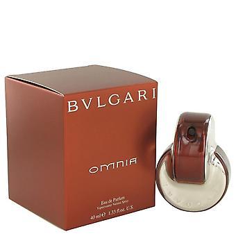 Omnia Eau De Parfum Spray por Bvlgari 1,4 oz Eau De Parfum Spray