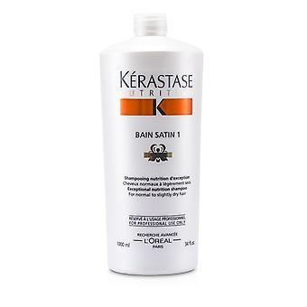 Näringsrikt bain satin 1 exceptionellt näringsschampo (för normalt till lätt torrt hår) 166313 1000ml/34oz