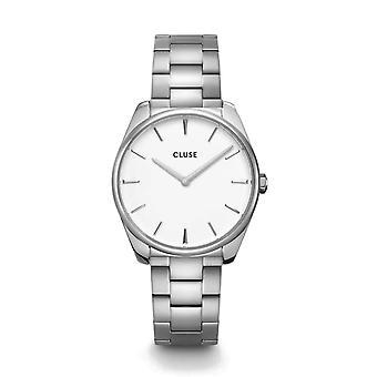 Cluse CW0101212003 La Féroce Silver Tone Wristwatch
