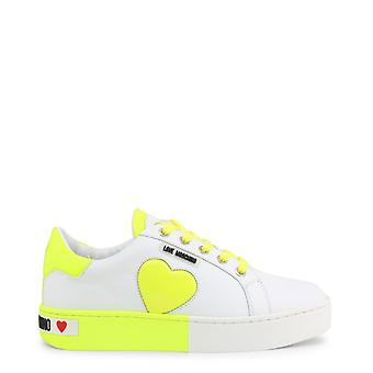 Woman leather sneakers shoes lm84791