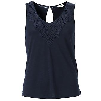 Women's Jacqueline de Yong Dodo Sleeveless Top in Blue