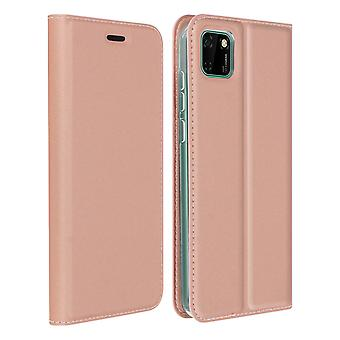 Protective Case Huawei Y5p CardHolder Function Video Holder Dux Ducis Pink