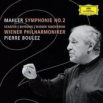 A. Mahler - Mahler: Symphonie nr 2 [CD] USA import