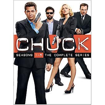 Chuck - Chuck: Hele serien [DVD] USA import
