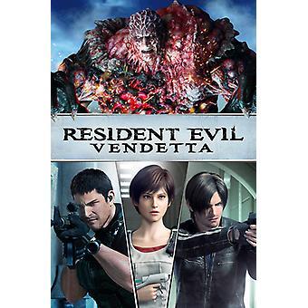 Resident Evil: Vendetta [Blu-ray] USA import
