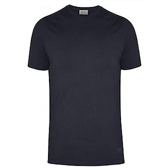 CC Collection Corneliani Navy Crew Neck T-Shirt