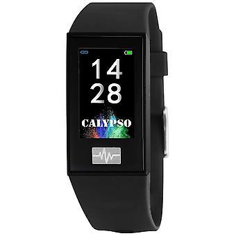Calypso Unisex | Smartime | Schwarzes Silikonband + Free Strap K8500/6 Uhr