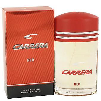 Carrera red eau de toilette spray by vapro international 498892 100 ml