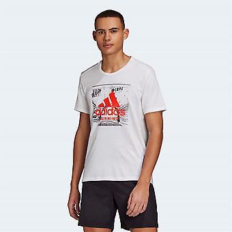 adidas GFX Kurzarm-T-Shirt Herren