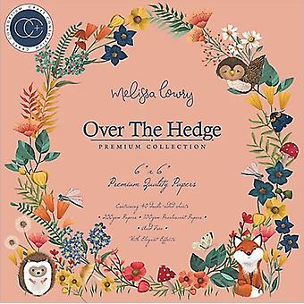 Craft Consortium Over The Hedge 6x6 Inch Paper Pad