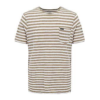 Tierbekleidung Männer's Tasche T-Shirt grau