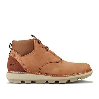 Men's Caterpillar Brusk Lace Boot in Brown
