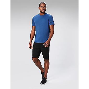 Peak Velocity Men&apos,s VXE Short Sleeve Snabbtork Lös-Fit T-shirt, Victory Blu...