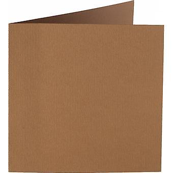 Papicolor 6X Tarjeta Doble 132X132mm Nut-Brown