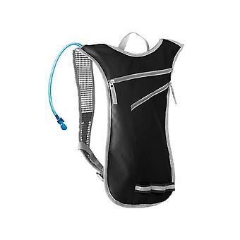 Backpack with Water Container - Black