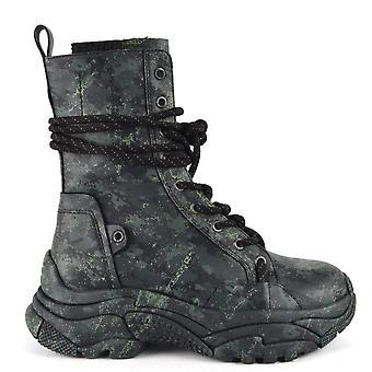 Ash ARMY BIS Recycled Trainer Boots Camo Print