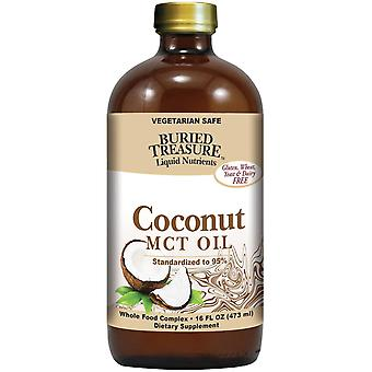 Buried Treasure, Liquid Nutrients, Coconut Oil, 16 fl oz (473 ml)