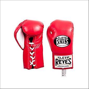 Cleto reyes gants de concours traditionnels - rouge