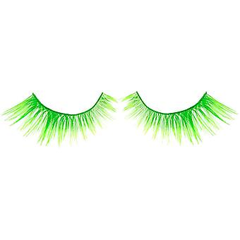 Bliss False Eyelashes - #330 / Green Neon - Elegant 3D Effect Luscious Lashes